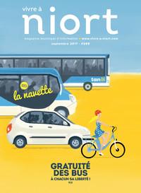 couverture Magazine vivre à niort : Numéro de septembre 2017