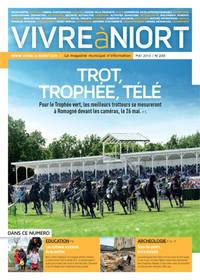 couverture Magazine vivre à niort : mai-13