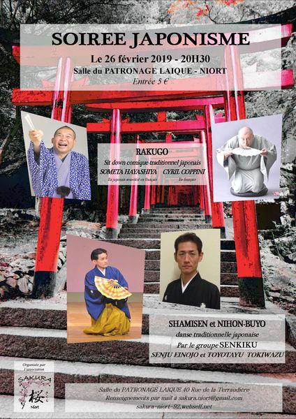 Soirée japonisme