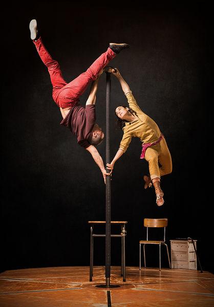 Festival Cirque d'été :  Cie Daraomaï