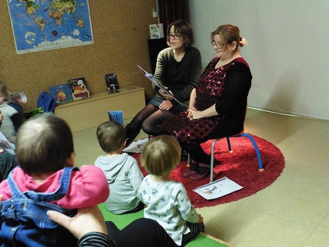Animation : bébés lecteurs à la médiathèque centrale