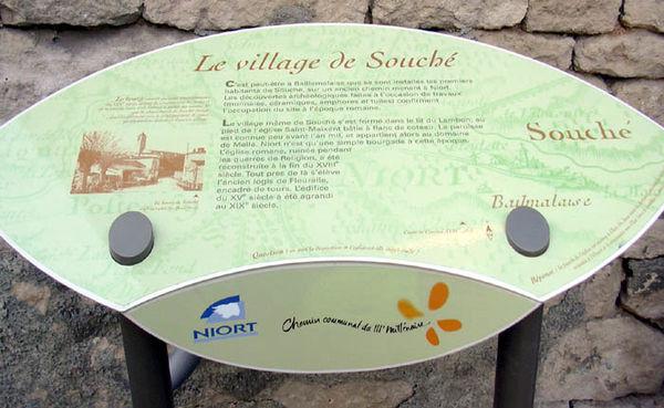 Le village de Souché