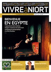 couverture Magazine vivre à niort : avr-13