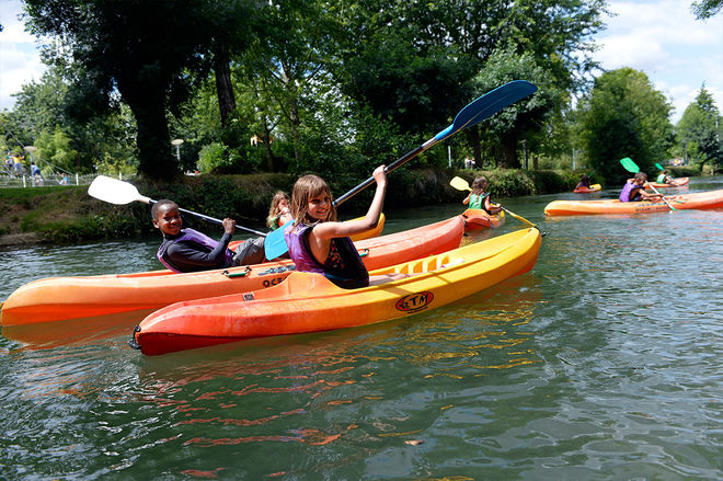 Niort Plage : Initiation kayak et paddle