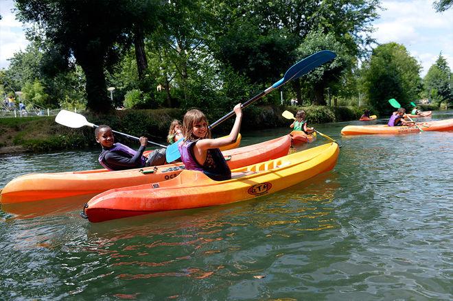 Niort Plage : Sortie kayak enfant encadrée