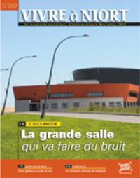 couverture Magazine vivre à niort : Numéro de novembre 2010