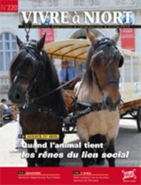 couverture Magazine vivre à niort : Numéro d'avril 2012