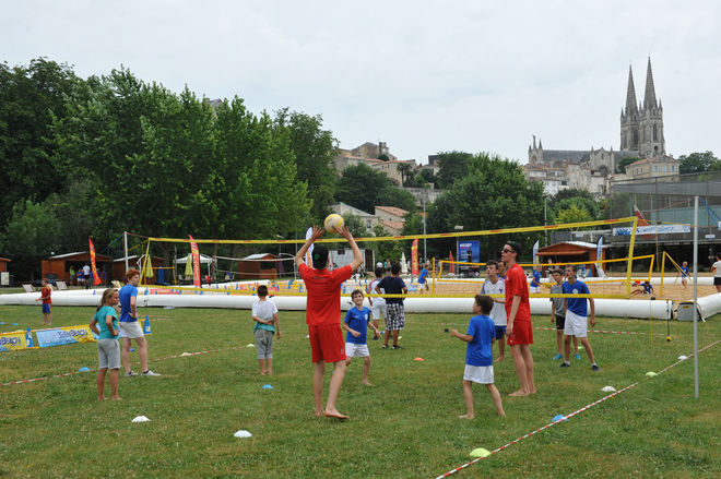 Niort Plage : Beach-volley