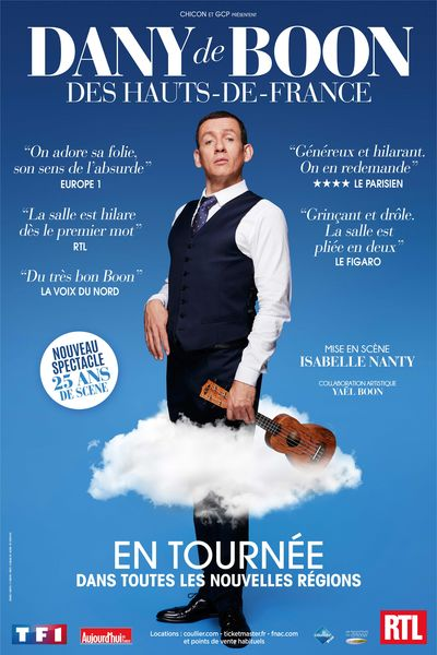 Spectacle : Dany Boon