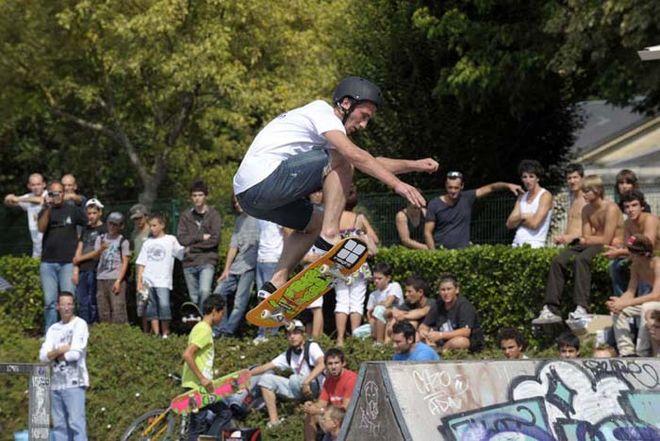 Niort Plage : Démo de skate