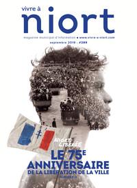 couverture Magazine vivre à niort : Numéro de septembre2019