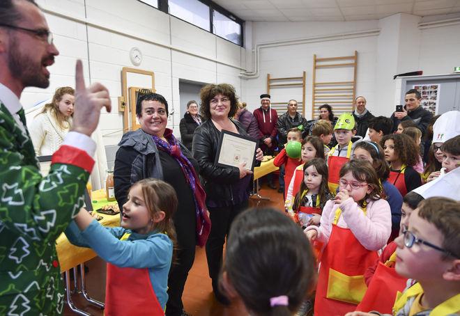 Remise de prix concours national des collectivités ville Fraiche attitude