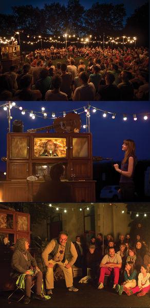 "Théâtre.""La Veillée"""