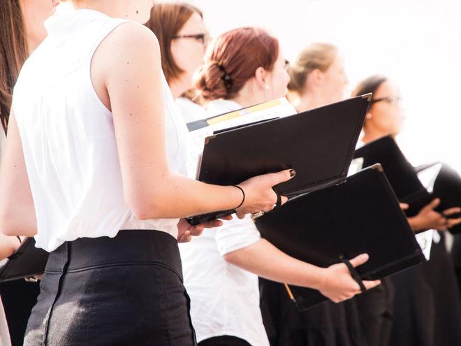 Chorale départementale des collèges du sud des Deux-Sèvres à La Crèche
