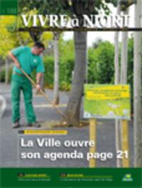 couverture Magazine vivre à niort : Numéro d'octobre 2008