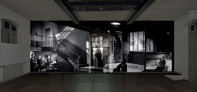 Installation vidéo : Le Clouzoscope - Hommage H.G. Clouzot
