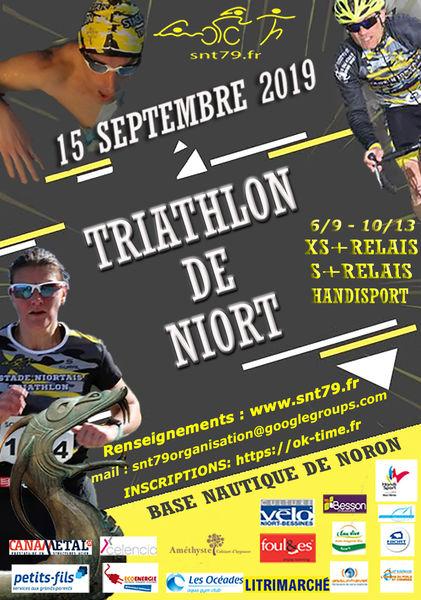Triathlon de Niort #1