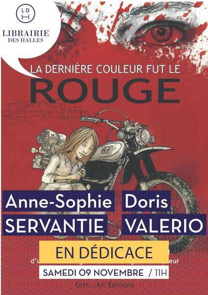 Signature : Anne-Sophie Servantie & Doris Valério