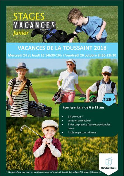 Sport : Stage Junior Golf