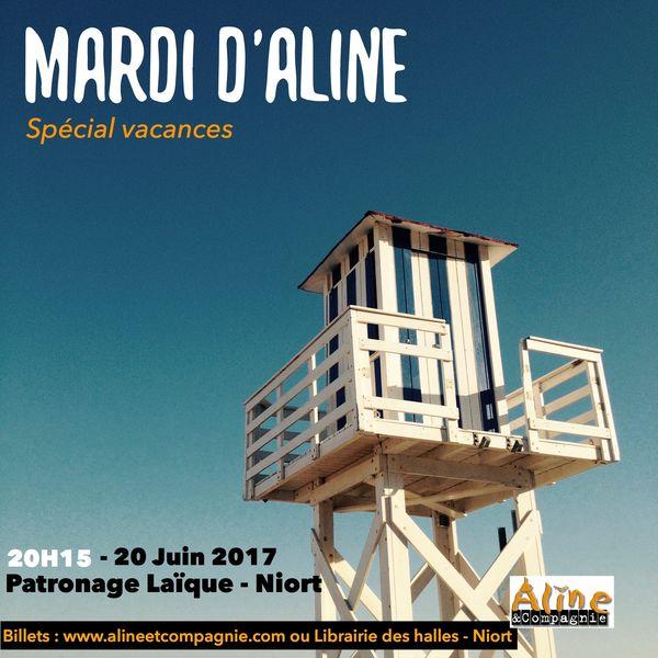 Théâtre d'impro : Mardi d'Aline et Cie, spécial vacances