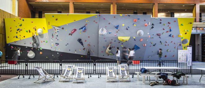 Escalade indoor : Mini stages