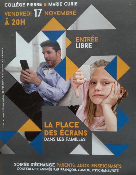 Discussion : La place des écrans dans les familles