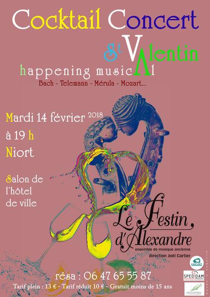 Concert : Le Festin d'Alexandre fête la Saint-Valentin