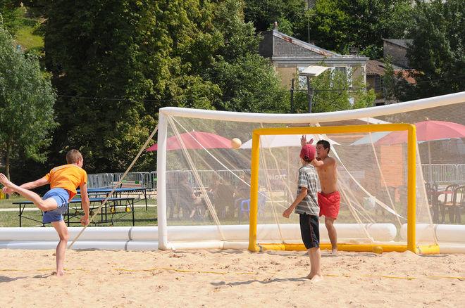 Niort Plage : Sandball