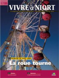 couverture Magazine vivre à niort : Numéro de décembre 2009