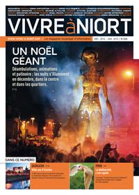 couverture Magazine vivre à niort : Numéro de décembre 2012