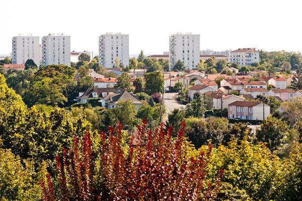 Vue sur le quartier de la Gavacherie