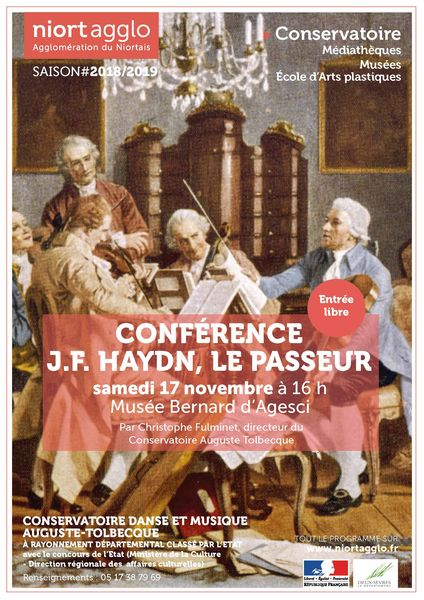 Conférence : Haydn, le passeur