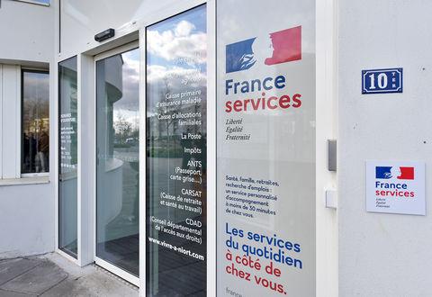 """Illustration article : La mairie de quartier labellisée """"France services"""""""
