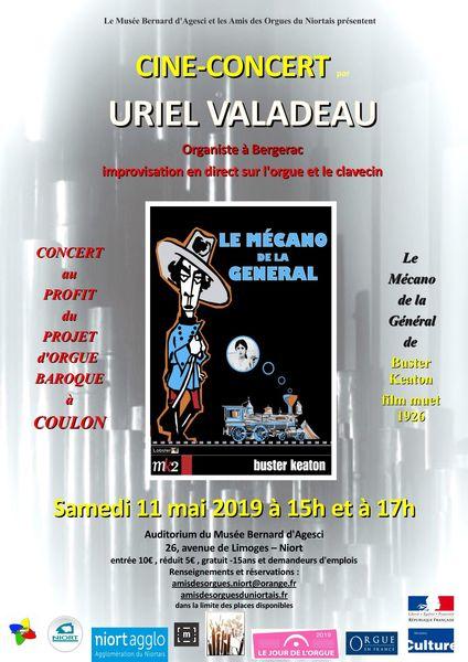 Ciné-concert : Le Mécano de la Général