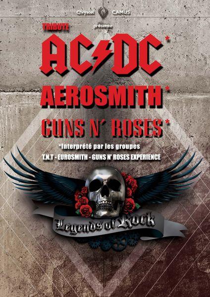 Concert : Legends of rock