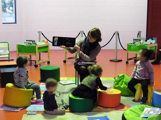 Animation : bébés-lecteurs au Lambon