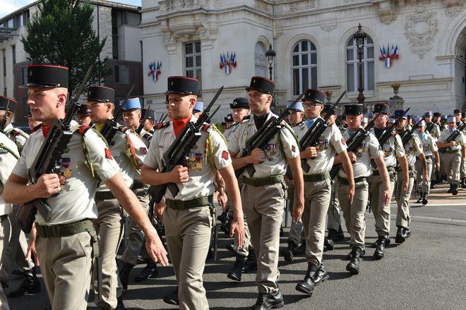 Fête nationale : le défilé militaire