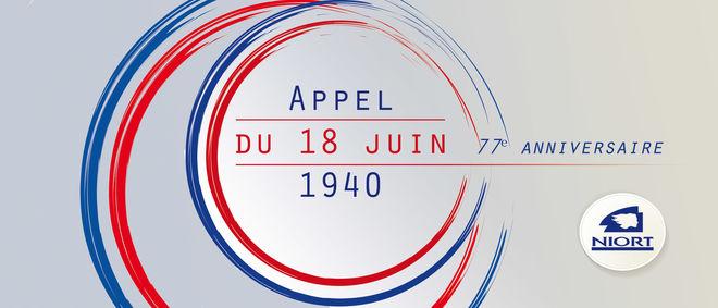 77e anniversaire de l'Appel du 18 juin 1940