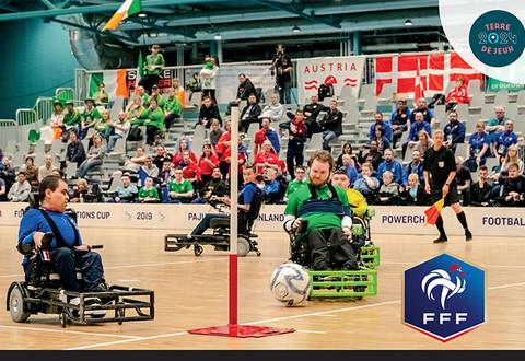 Illustration article : L'élite française du foot fauteuil en stage à Niort
