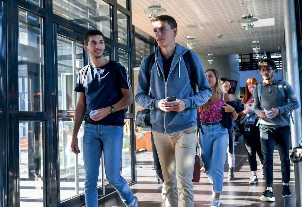 Rentrée universitaire au Pole Universitaire Niortais et à l?ICSSA