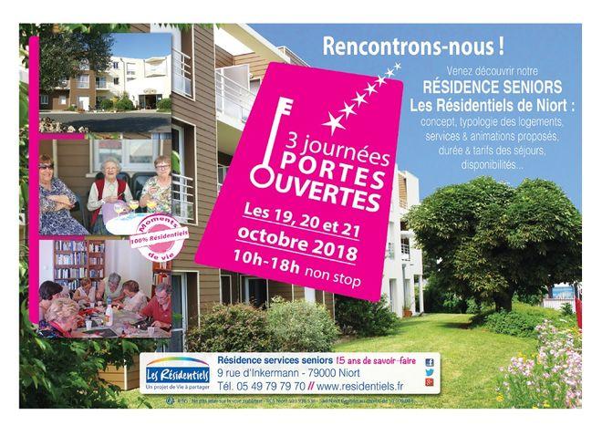 Portes ouvertes : Résidence seniors Niort
