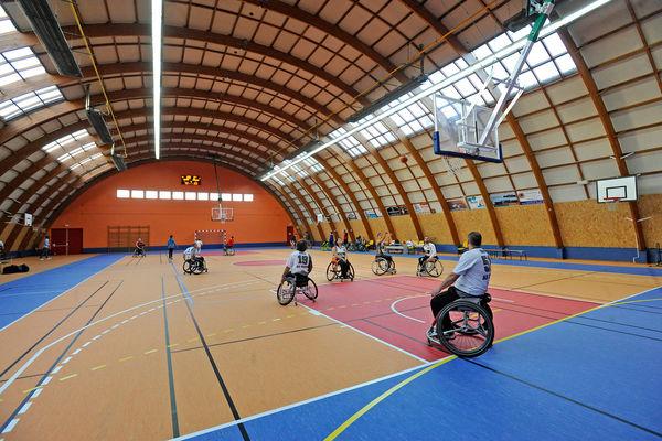 Salle de sport George Sans © Berbord