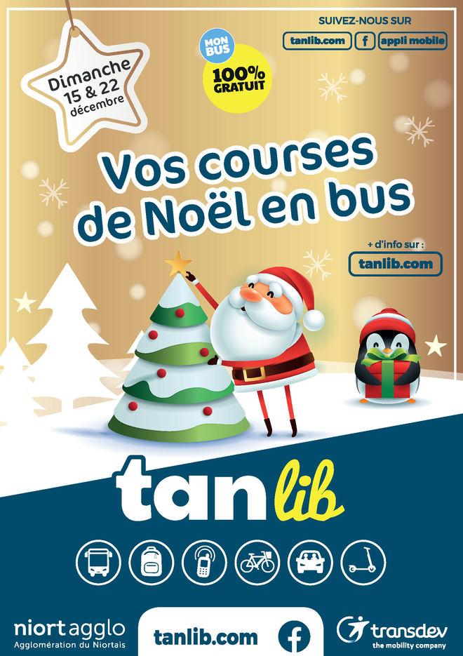 Vos courses en bus pour Noël