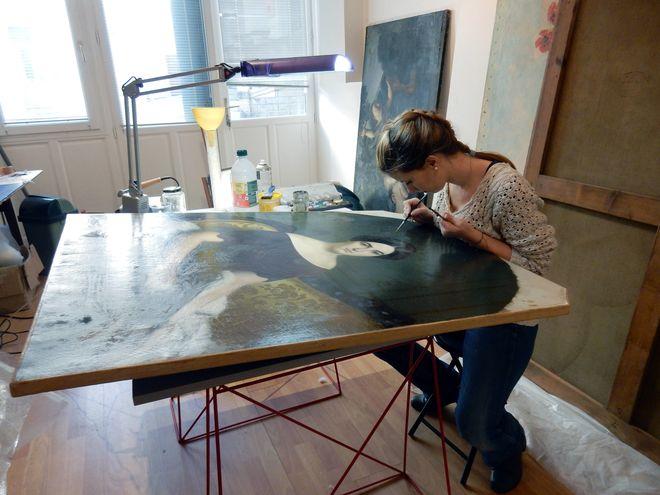 Journées européennes des métiers d'art - Restauration d'objets d'art