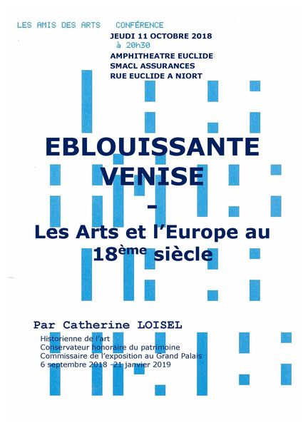 Conférence : Éblouissante Venise