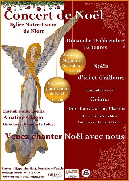 Concert de Noël à l'église Notre-Dame