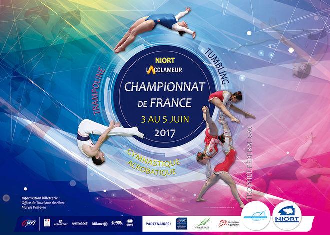 Championnat de France de trampoline - tumbling - gymnastique acrobatique