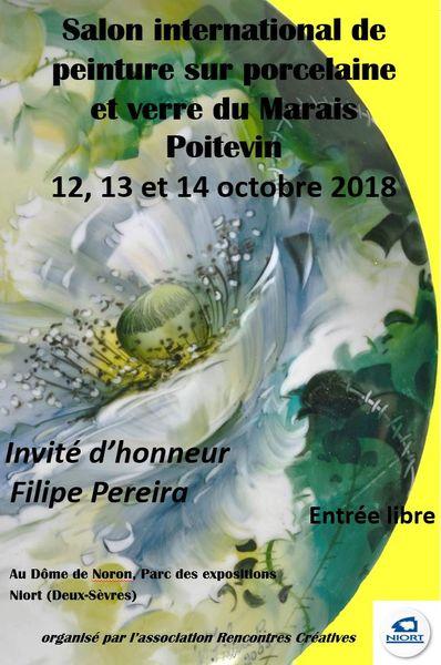 Salon international de peintures sur porcelaine et verre du marais poitevin