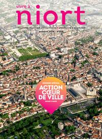 couverture Magazine vivre à niort : Numéro d'octobre 2018