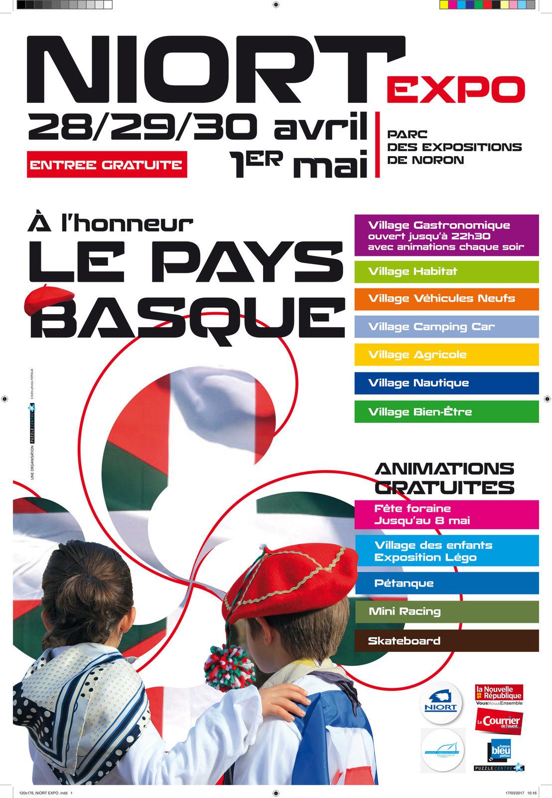 Niort expo mairie de niort for Parc des expositions niort